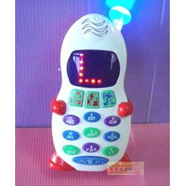 麗嬰兒童玩具館~BABY最愛-聲光學習小電話-英文學習手機