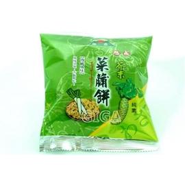 【吉嘉食品】旭成菜脯餅(芥末)-單包裝.300公克50元{3023-8:300}