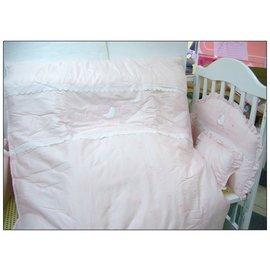金典米蘭堡純棉七件寢具組(L)-贈品牌嬰兒襪*1雙
