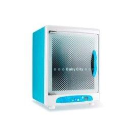 Baby City 微電腦紫外線烘乾消毒鍋(BB12010),贈貝親標準母感PP奶瓶240ml&海棉刷各1,*本月特惠價*