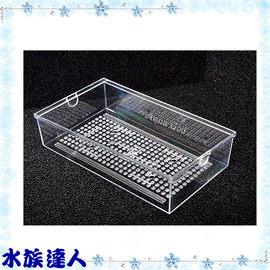 【水族達人】【上部過濾器】《滴流盒(29*16.5*6.8cm)》便當盒 多層式培菌滴流槽專用