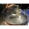 鐡板燒玻璃鍋蓋~有氣孔廚具~巴果果客棧~GCOK~01SV~餐具、餐飲、料理工具