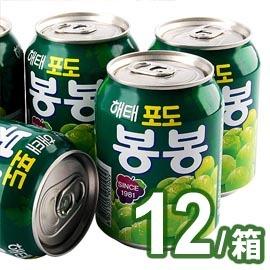 ~易購樂~韓國葡萄汁^~好喝健康^~12can 箱