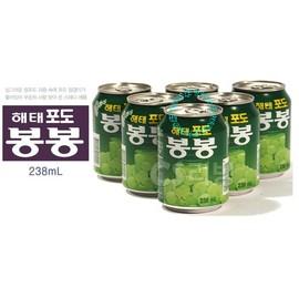 ~易購樂~韓國白葡萄汁~好喝健康~238ML 24罐