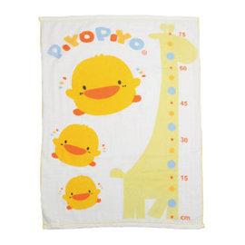 黃色小鴨雙層紗布大浴巾-長方