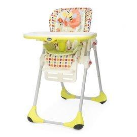 Chicco POLLY二合一高腳餐椅(3色可選!)-贈ansa喝水訓練杯*1 *全新花色&附四輪*