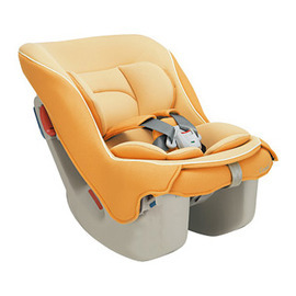 Combi Coccoro-輕穩汽車安全座椅(甜橙橘)--贈美國ansa喝水杯