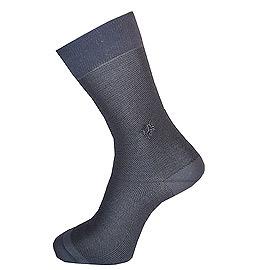 UNICORN COUNTRY獨角獸絲光棉網點紳士襪