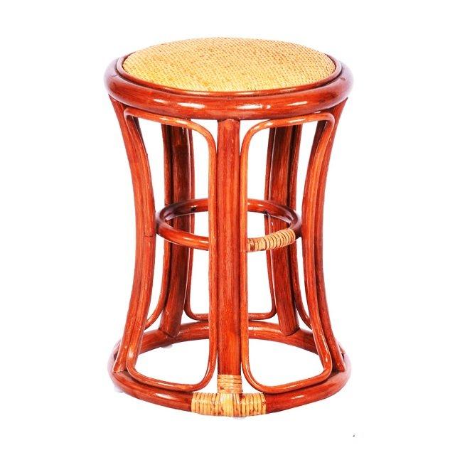 多祿015K 籐製沙發高圓鼓椅 印尼 藤椅 藤傢俱 編織 籐椅 籐