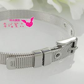 免 ^| 0利率 ^| 鋼飾^~◆〔鋼織女腕帶〕手環◆^~ 柔美,不生鏽,不怕水, 忙碌的