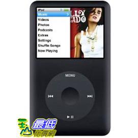 [美國代購A] 型錄費$20 第七代 Apple iPod classic 160GB 影音撥放器 黑色 ※ 保固一年 $7980 代購費300元 型錄