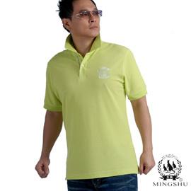 狂殺 299~MINGSHU~吸汗透氣短POLO衫  型男果綠^(修身款^)3217C