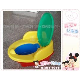 麗嬰兒童玩具館~台灣製-小寶貝便便訓練器-簡易款座椅幼兒馬桶-