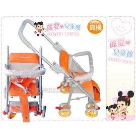 麗嬰兒童玩具館~Mother's Love三代改良可推式附輪機車椅七分管旗艦款-新到貨櫃(紅/咖)