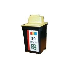 ☆Lexmark環保墨水匣15M0120 NO.20  彩色 :X4270 X4250