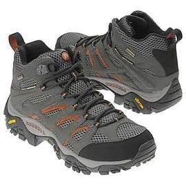 【MERRELL 邁樂】 男中筒新款 Moab Mid Gore-Tex Xcr 100%防水透氣專業健行.登山鞋.健走-黃金大底(送多功能置鞋袋)非LA NEW) 87313