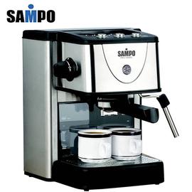 ◤ 打奶泡設計◢ SAMPO 聲寶 1500ml超大容量 幫浦式 濃縮咖啡機 HM-L1002CL **可刷卡!免運費**
