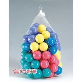 CHING~CHING親親~球屋 遊戲屋及泳池 的100顆彩色安全遊戲球 網袋裝 小球 彩