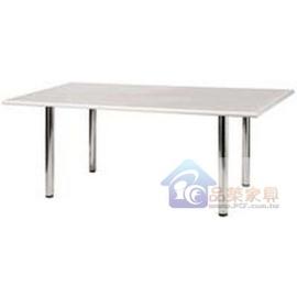 P147~13 檯面方形會議桌^(便利腳^)