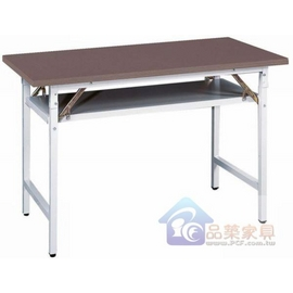 P158~11 直角鐵刀木面會議桌^(木芯板^)