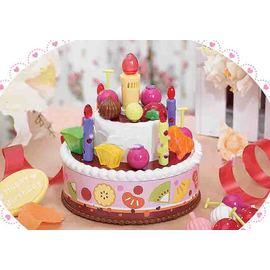 會唱歌的音樂蛋糕~自由組裝,會唱歌,可吹滅的蠟燭!