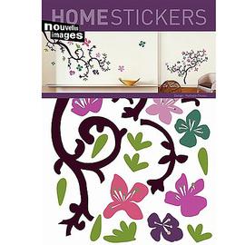 Ψ法國 Nouvellesimages 壁貼 牆壁裝潢裝飾 居家牆面佈置 ~ 杜鵑花