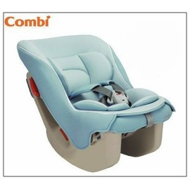 Combi Coccoro-輕穩汽車安全座椅(薄荷藍)-贈美國ansa喝水杯