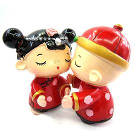 【花現幸福】☆中國新婚娃娃公仔50元☆婚禮小物  送客禮
