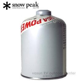【日本 Snow Peak】Gigapower Fuel - ISO 標準型瓦斯500.大瓶瓦斯.高山瓦斯罐.高壓瓦斯罐 /GP-500S 銀色