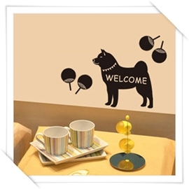 Polly  壁貼 _動物 寵物系列~ 風柴犬~  美學 居家佈置 自創品牌 用品 壁貼