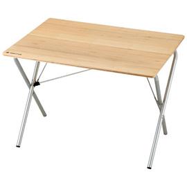 日本 Snow Peak 公司貨 快速竹折桌-標準(Single Action  Table,Bamboo Top)折疊桌.木桌.收納桌.檜木桌.露營.戶外必需品 LV-010T