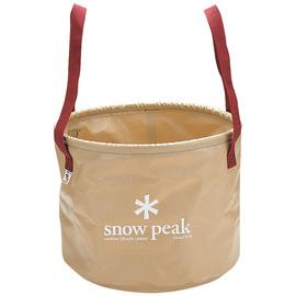 日本 Snow Peak 月光軟式水桶-25L (Jumbo Camping Bucket)飲水桶.補給水袋.冰桶.戶外露營釣魚野炊 FP-150
