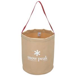 日本 Snow Peak 月光軟式水桶-12L (Camping Bucket)置物袋 飲水桶.補給水袋.冰桶.戶外露營釣魚野炊 FP-152