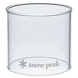 【日本 Snow Peak】Glass Globe Small瓦斯燈備用玻璃燈罩-S.玻璃營燈燈罩/ GL-100A專用.營燈配件.輕量耐熱玻璃/GP-002