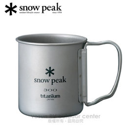 【日本 Snow Peak】Titanium Single Wall 300-SP鈦金屬單層杯 300ml/折疊把馬克杯.鋼杯.個人杯子.戶外露營登山野炊/MG-042FHR
