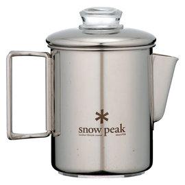 日本製 Snow Peak SP不鏽鋼滴煮式咖啡壺/6杯入(Stainless-steel Coffee Percolator 6 Cups)戶外登山露營行動咖啡 PR-006