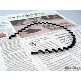 【Q禮品】A1509 時尚波浪髮箍(細版),髮飾/髮圈,日韓歐美時尚最愛