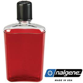 【美國 NALGENE】FLASK 350cc 攜帶型酒壺.隨身瓶.水壺.冷熱瓶.水瓶.酒杯 / 紅.藍可選  2181-0008
