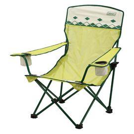 【美國Coleman】陽光型網椅.沙灘椅.躺椅.導演椅.折合椅.折疊椅.休閒椅.野餐椅.露營椅/ CM-7643 萊姆綠