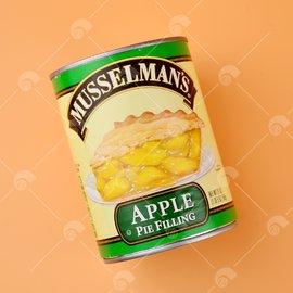 【艾佳】MUEESLMAN'S 蘋果派餡-595g/罐