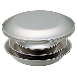 日本 Snow Peak SP 不鏽鋼餐盤組-2人四件組(Tableware Set L Duo)餐具組.碟子.碗盤組.戶外登山露營野炊 TW-021D