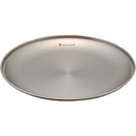 日本 Snow Peak SP 不鏽鋼餐盤-M (SPTableware Plate M).餐具組.碟子.碗盤組.露營.戶外必需品 TW-033