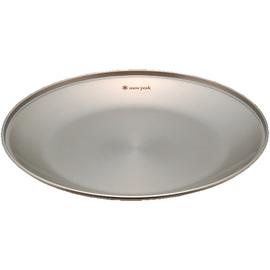 日本 Snow Peak SP 不鏽鋼餐盤-L (SPTableware Plate L).餐具組.碟子.碗盤組.露營.戶外必需品#-TW-034