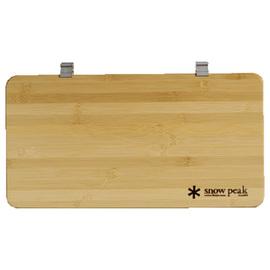 日本 Snow Peak IGT 標準1/2側桌板(Iron Grill Table Slide Top Half)竹木延伸料理桌.置物桌板 CK-153T