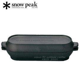 【日本 Snow Peak】Micro Capsule 燕三條 極薄輕量長型迷你荷蘭鍋.鑄鐵鍋.鑄鐵鍋具/CS-502