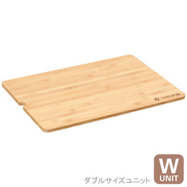 日本 Snow Peak IGT 竹桌版-W (Iron Grill Table Wood Table Wide, Bamboo Top)寬版廷伸木質固定板.加長板 CK-126T