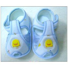 黃色小鴨格狀嬰兒學步涼鞋(GT-81178)