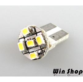 【winshop】5LED燈泡雙尖31mm爆亮小鋼泡,汽車用室內燈、牌照燈,超白光2W規格,時尚冷白光
