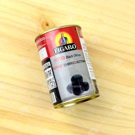 【艾佳】裴加羅黑橄欖400g/罐