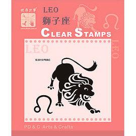 PDC~ 2010年透明印章~ Leo 獅子座